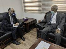 وكيل وزارة الخارجية يلتقي سفير إيطاليا بالخرطوم.