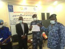 اليوناميد تدعم شرطة ولاية شرق دارفور