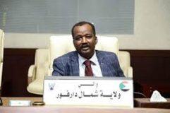 والي شمال دارفور يتفقد ديوان شئون الخدمة