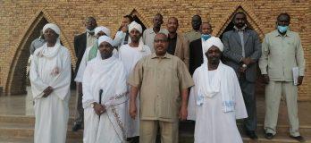 والي شمال كردفان يستقبل وزير الشئون الدينية والأوقاف