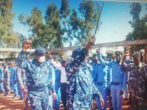 مدير شرطة الجزيرة يوجه بردع المتربصين بأمن الولاية