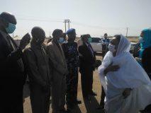 عائشة موسى تصل ولاية نهر النيل في زيارة تستغرق يوماً واحداً