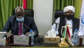 محمد الفكي يترأس إجتماع لجنة أمن ولاية غرب دارفور