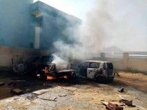 متظاهرون يضرمون النار على هيئة الإذاعة والتلفزيون بولاية شرق دارفور