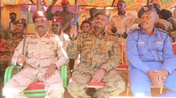 """قوات """"درع السلام"""" بشمال دارفور تستقبل رئيس تجمع قوى تحرير السودان"""