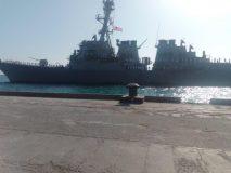 وصول سفينة حربية أمريكية إلى ميناء بورتسودان