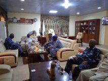والي النيل الأزرق يلتقي المدير الجديد لشرطة الولاية