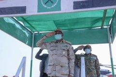 دقلو يفتتح مستشفى الشيخ محمد بن زايد بمدينة الضعين