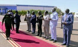 نائب رئيس جمهورية جنوب السودان يختتم زيارته للبلاد