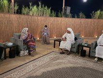 العلاقات الثنائية عنوان مباحثات وزيرة الخارجية مع نظيرها الإماراتي