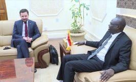 تاور يبحث مع مستشار رئيس الوزراء البولندى العلاقات الثنائية بين البلدين