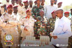 الدعم السريع بغرب دارفور تضبط كميات ضخمة من المخدرات