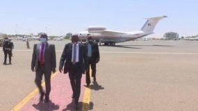 ياسر العطا يعود للبلاد من جمهورية جيبوتي