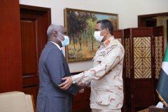 دقلو يدعو الاتحاد الأفريقي لمواصلة دعمه ومساندته للسودان