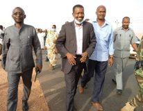 وزير التنمية العمرانية والطرق والجسور يصل الفاشر