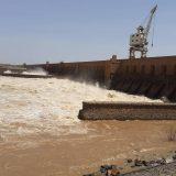 انخفاض منسوب مياه النيل الأزرق بمدينة سنجة