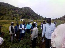 وفد مشروع تطوير الزراعة والتسويق المتكامل يصل محلية رشاد