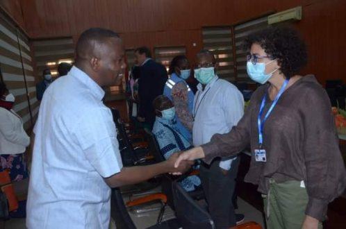 والي شمال دارفور يبحث مع ممثلة يونتامس حماية المدنيين