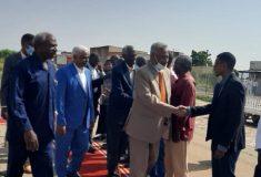 عضو مجلس السيادة الإنتقالي مولانا حسن قاضي يصل كسلا
