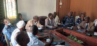 وفد من التجارة والتموين يبحث بشمال دارفور تنشيط تجارة الحدود