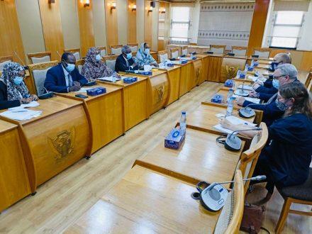 وكيل وزارة الخارجية يلتقي مدير إدارة شرق ووسط أفريقيا بالخارجية البريطانية