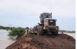 انخفاض كبير ومتواصل في منسوب النيل الأزرق بمدينة سنجة