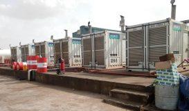 توقف محطات التوليد الكهربائي بسبب قطع الشركة التركية للامداد