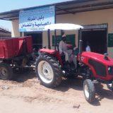 شركتا جياد والجزيرة تدشنان مركز الآليات الزراعية والاصماغ بالعباسية.