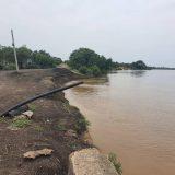 زيادة كبيرة في منسوب مياه النيل الأزرق بمدينة سنجة.