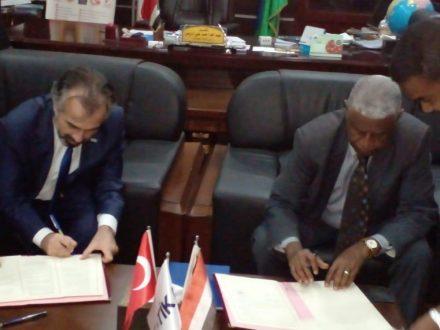 بروتوكول لتطوير المركز السوداني التركي لإنتاج النطف والتلقيح الاصطناعي