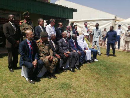 افتتاح المركز السوداني الإقليمي للتدريب على اعمال الألغام بالخرطوم