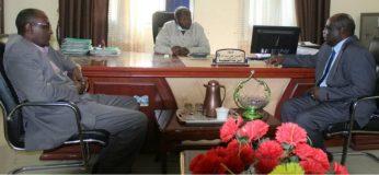 المالية والبنى التحتية بغرب دارفور يؤكدان دعم المشروعات الخدمية والتنموية